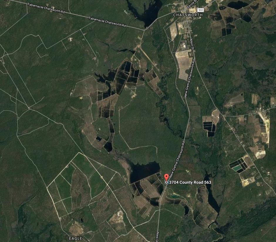 Chatsworth Map Hike Franklin Parker Preserve